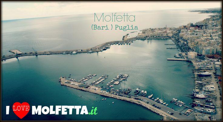 Molfetta: photo aerea.  Best picture of the city.  visit www.ilovemolfetta.it