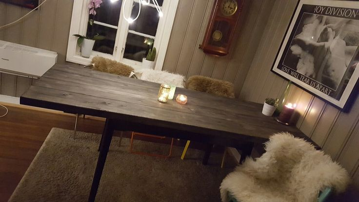 Diy diningtable.