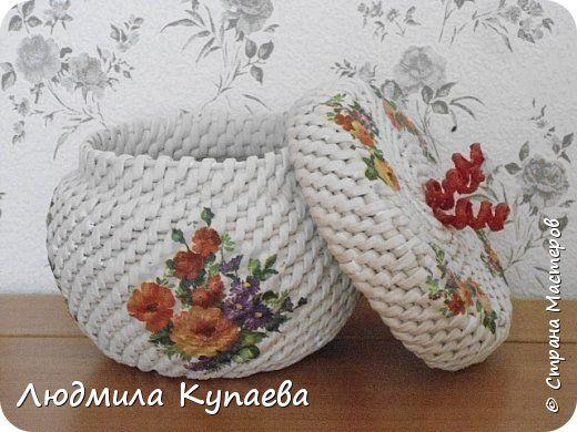 Великолепие бумажного плетения фото 20
