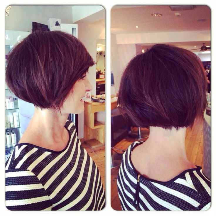 A brand new #style for our lovely client Alison She went for a beautiful #undercut which is bang on #trend Inspired by Emma Willis #cut and #colour by #Laura #dky #hair #style