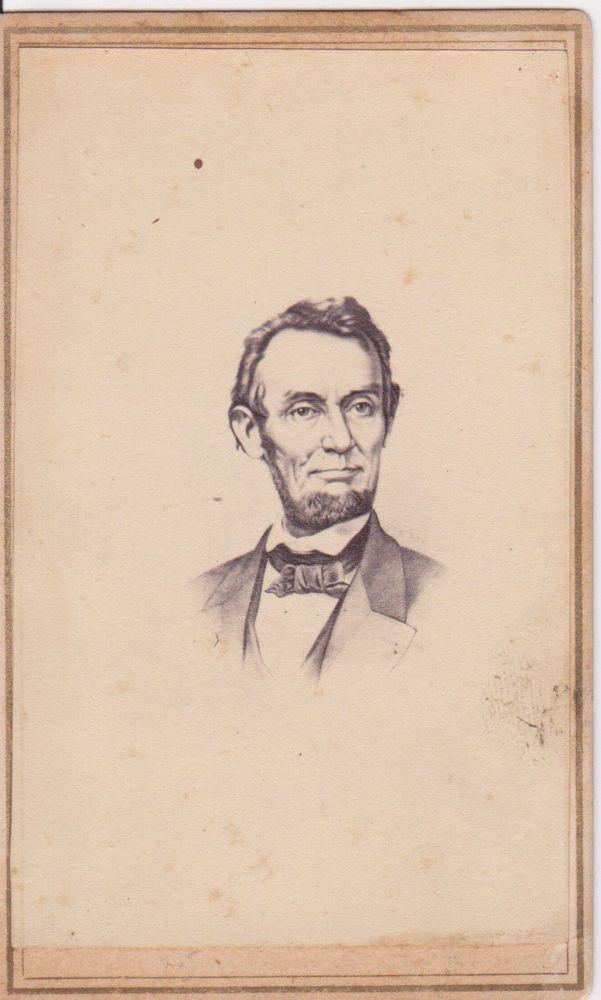 Abraham Lincoln CDV Carte De Visite