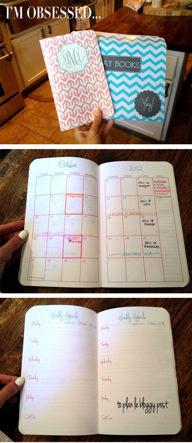 adorable customizable planners/notebooks for $15