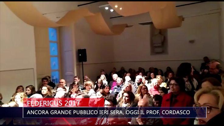 FEDERICUS 2017 ANCORA GRANDE PUBBLICO IERI SERA OGGI IL PROF  CORDASCO  ...
