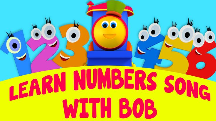 Bob, The Train - Learn Numbers Song With Bob | Numbers Song | Adventure ...