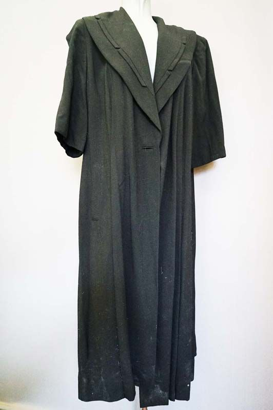 1940's woollen coat for sale in the Mabs Collection