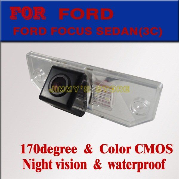 Car Rear View Camera Rearview camera  Reverse Backup monitor rear view system for FORD FOCUS SEDAN(3C)/MONDEO/for Ford C-MAX
