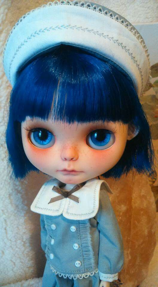 Nora as a doll