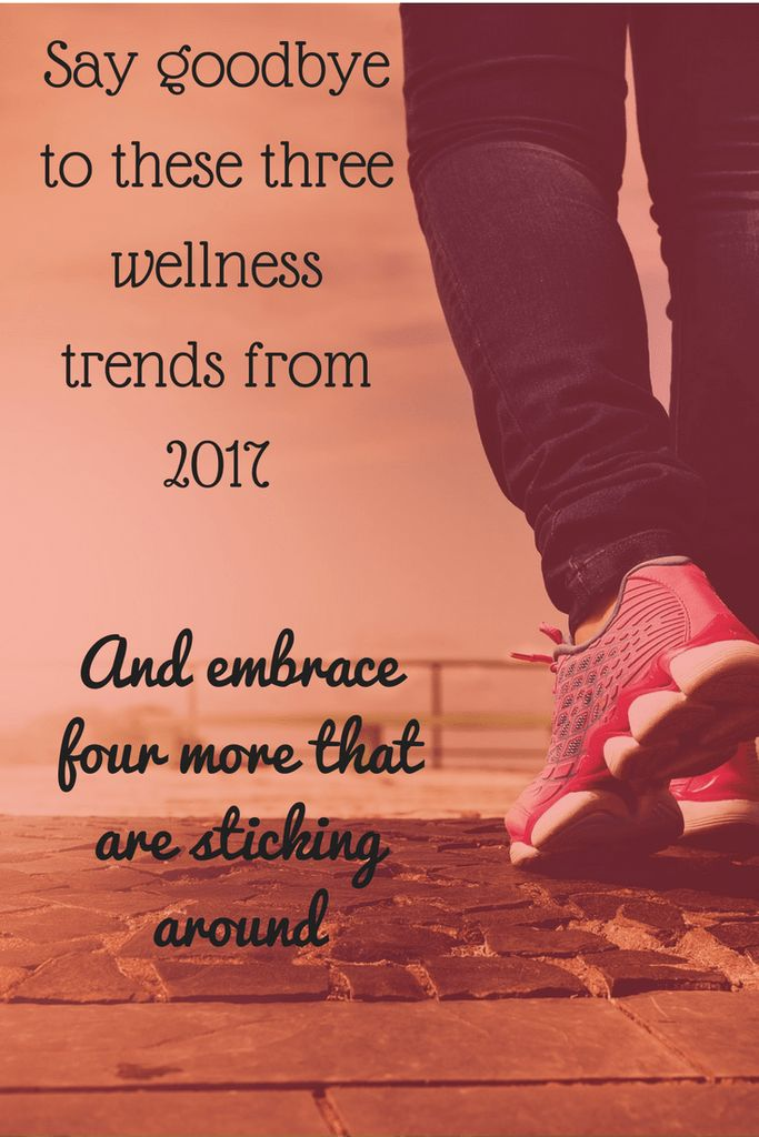 The big hits of 2017 were unicorn frappes, exercise apps, and drinks on tap. Take a look at which of 2017's wellness trends will stand the test of time.