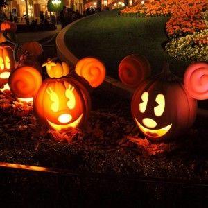 Cute Indoor Light Uo Mickey Mouse Pumpkin : Creative Ideas For ...