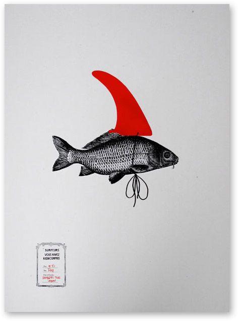 by Spanish artist Xabier Ziriklain for Nordic Surfers Mag (NSM)