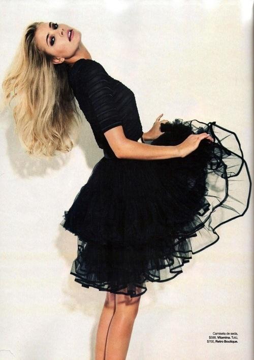 Poofy skirt