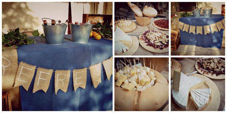 Pon puestos de comida en tu boda  www.susannaprincipe.com