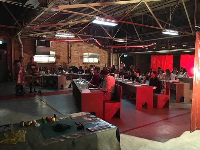Live inside the belly! Our first @otisarmada #OtisBrutal feast has kicked off…