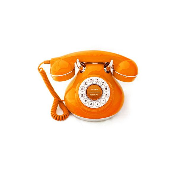 orange phone ❤ liked on Polyvore featuring orange, fillers, phones, electronics and accessories