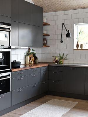 Grått kök i tankarna? Du måste du spana in Ballingslövs gråa kök Solid peppargrå. Hitta din köksinspiration hos Ballingslöv!