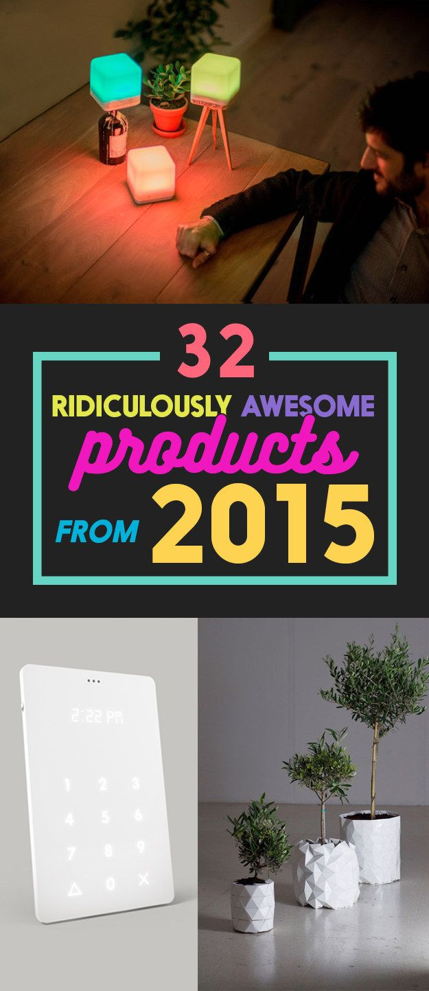 These Are The Coolest Products From 2015