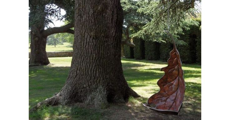 Oak Leaf Swing. Capture yourself in a falling leaf!  ..well Yes i do! A swing for big and little.