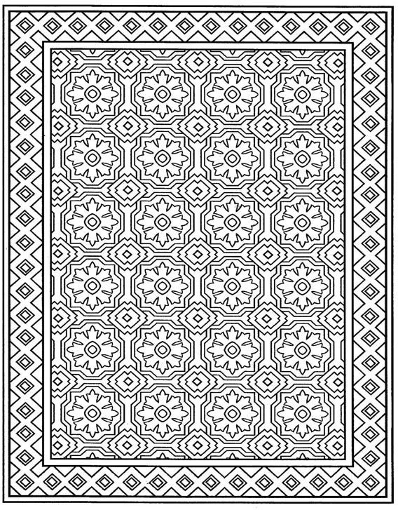 82+ [ Quilt Coloring Pages For Adults ] - Of Flowers Coloring Pages 4 680x880, Flamenco Dancer ...