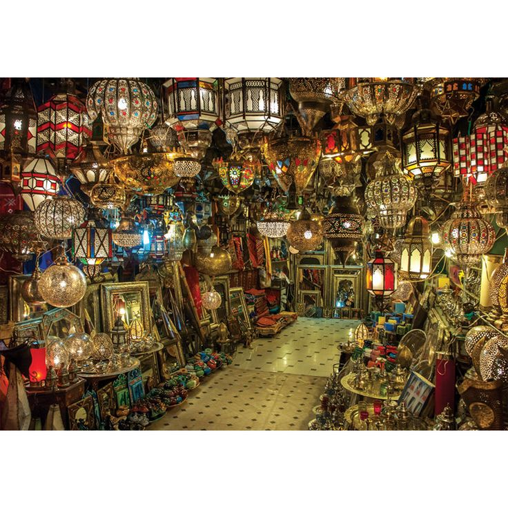 Moroccan Lantern Store 1000 Piece Jigsaw Puzzle #PuzzleKorea