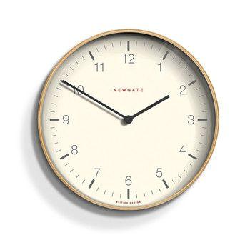 Buy Newgate Clocks '50s Electric Clock - Sponge Cake Cream | Amara