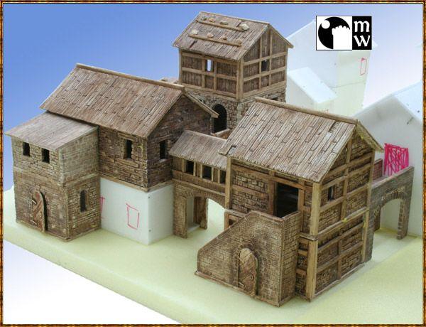 Manorhouse Workshop 25-38mm modular 3D wargaming elements | Indiegogo