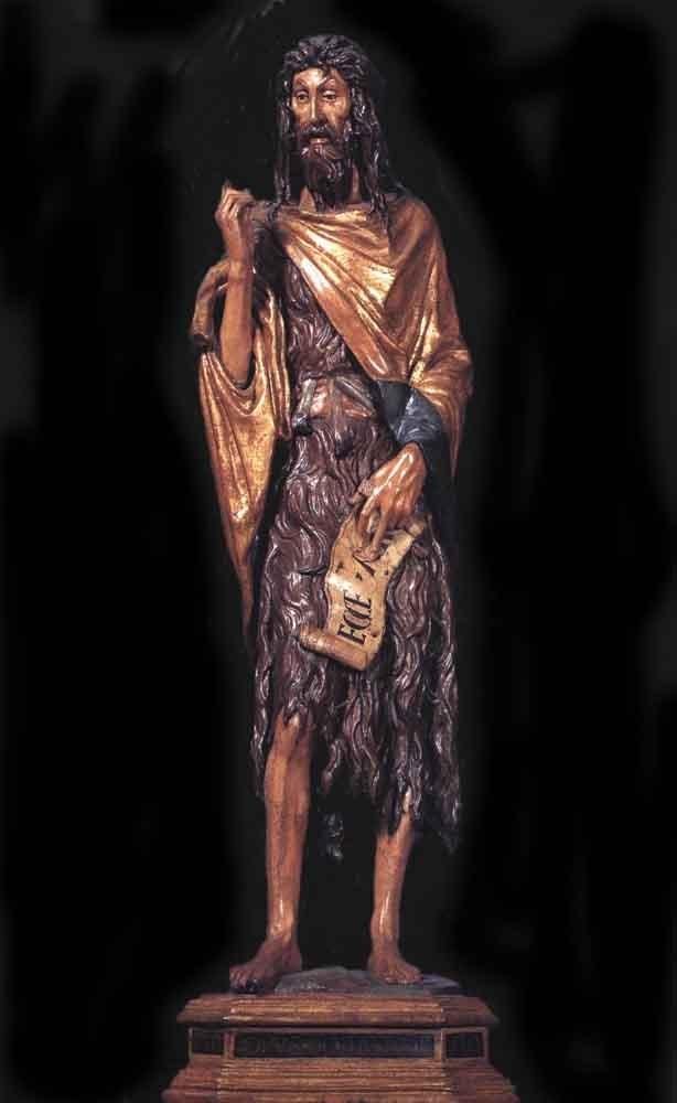 Шедевр - статуя Иоанна Крестителя (1438 г.), тщательно вырезанная из дерева, а затем окрашенная. Этот шедевр был создан  величайшим скульптором Донателло.