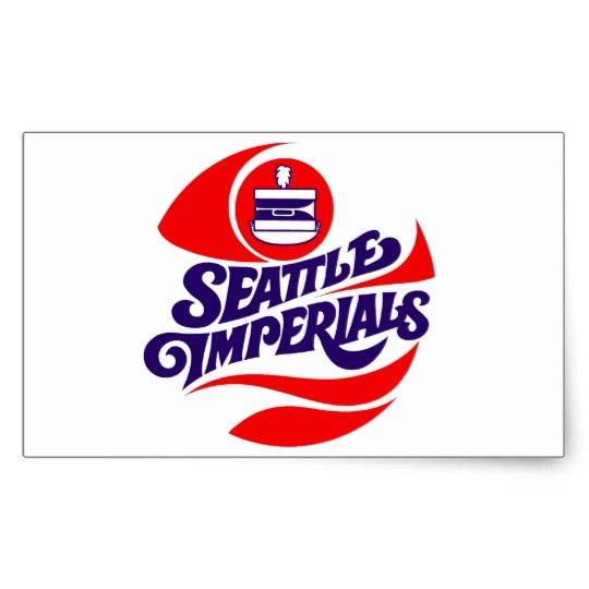 Seattle imperials classic round sticker