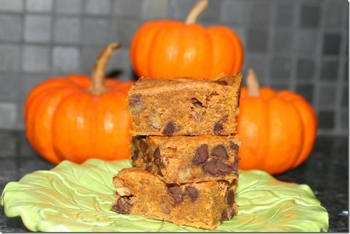 Pumpkin Blondies @Renee Robertson several different recipes on here ...