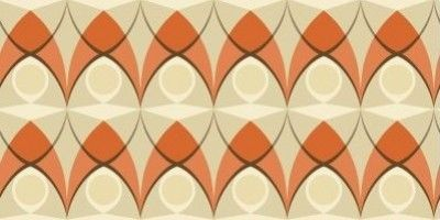 Spotlight Orange (264769) - Albany Wallpapers - A retro styled wallpaper design featuring an all over geometric pattern. Shown here in the vibrant orange colourway. Other colourways are available. Please request a sample for a true colour match. Paste-the-wall product. Pattern repeat 13.25cm