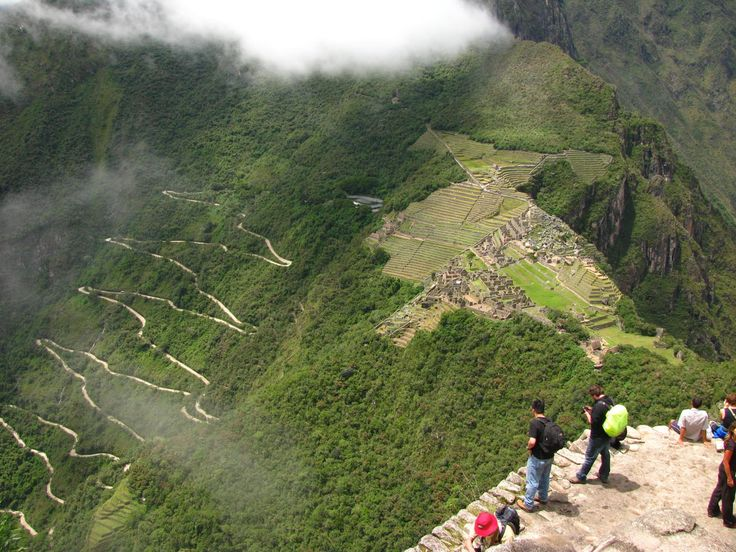 The road that leads up to Machu Picchu - Imgur