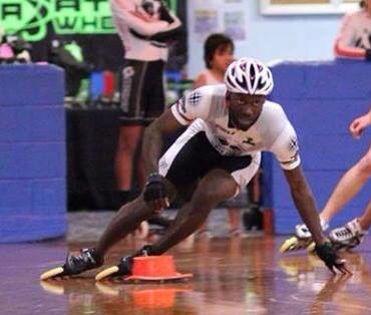 Michael Ringer, inline speed skate