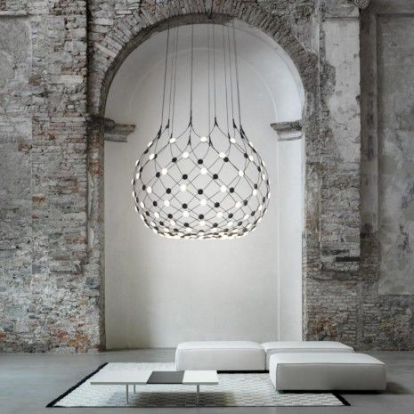Luceplans Mesh Fixture By Francisco Gomez Paz I Set Out To Create A Lamp