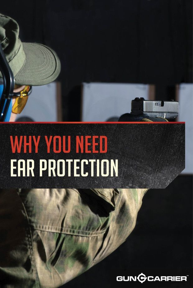 Shooting Ear Protection | Firearm Accessories and Gear by Gun Carrier at http://guncarrier.com/shooting-ear-protection/