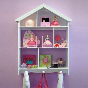 Bailey Dollshouse Wall Shelf - Kids Furniture - Milan Direct