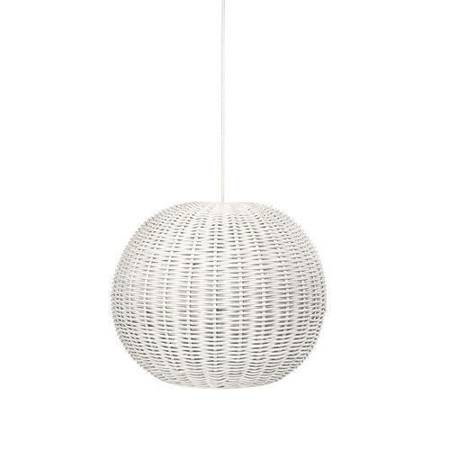 Found it at Wayfair - Handwoven 1-Light Drum Pendant Light