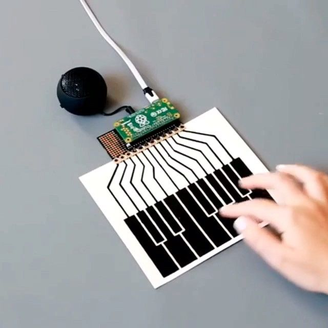 Bare Conductive Paint Turn Touch In To Sound No Tools No Programming Paint Plug Play It S Interactive Design Conductive Ink Lily Pads