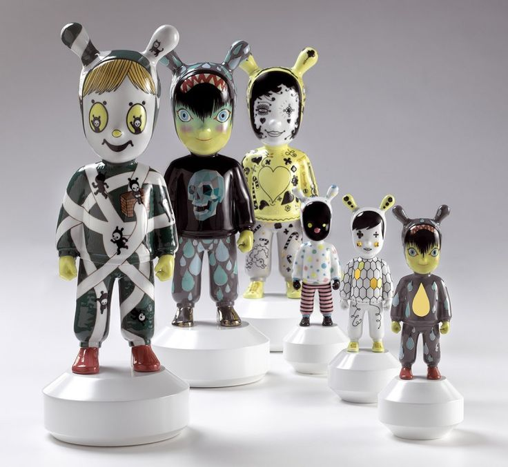 The Guest, A Singular Character From The Spanish Artistic Porcelain Brand  Conceived By Jaime Hayon. Designer ...