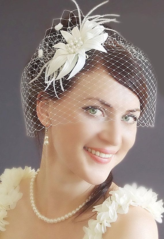 Best 25+ Vintage birdcage veils ideas on Pinterest