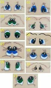 Resultado de imagen de ojos animados tiernos