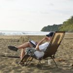#johnkapelos thinking on the #beach in #costarica during the 2017 Writers Retreat