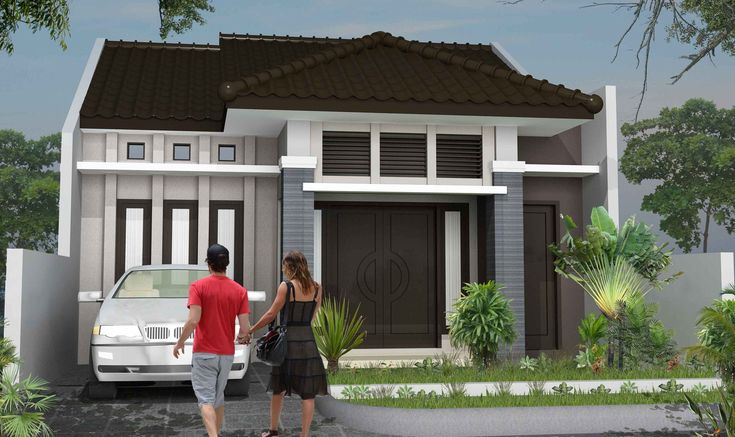 exterior rumah minimalis modern Tipe Rumah Minimalis