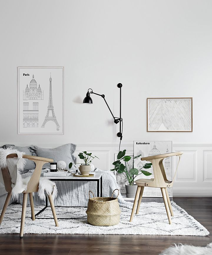 So Fresh & So Chic / Friday Finds are back! Curated crushes and current obsessions from across the web. This gorgeous Scandinavian living room belong to One Deco Love. See all my finds at sofreshandsochic.com