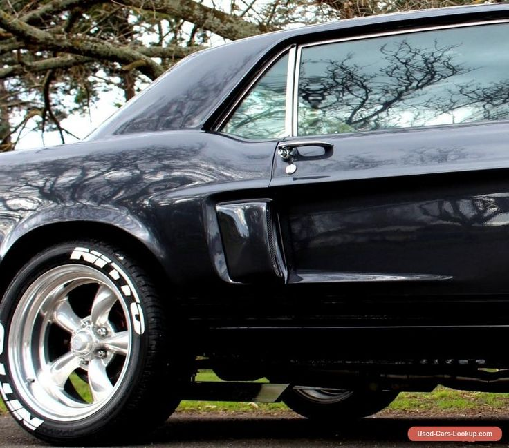 """ford mustang 1968 GT Replica """"nut and bolt"""" resto 351 W- 4Speed Super T10 #ford #forsale #australia"""