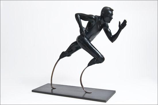 Paralympics statue