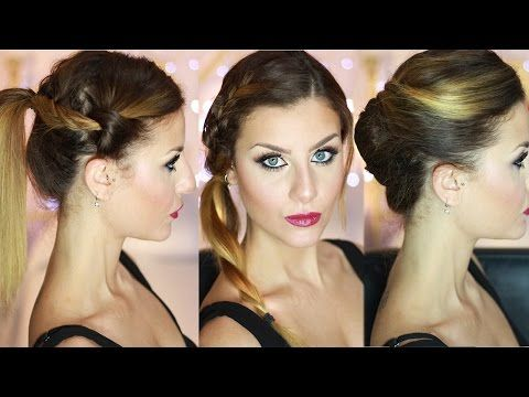 Acconciature capelli lunghi/medi facili e veloci fai da te! Quick and easy hairstyles! - YouTube