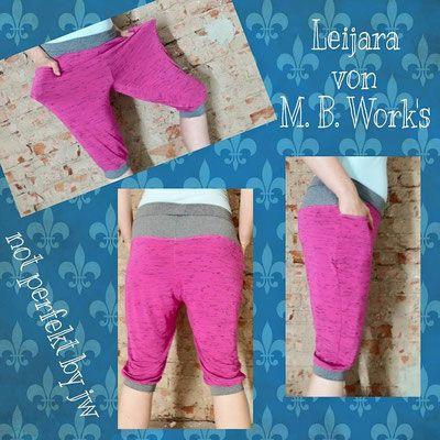M.B.Work`s Short Leijara  Größe 32-54