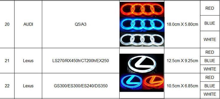 $30.00 (Buy here: https://alitems.com/g/1e8d114494ebda23ff8b16525dc3e8/?i=5&ulp=https%3A%2F%2Fwww.aliexpress.com%2Fitem%2FFree-Shipping-4D-Car-Decoration-Logo-Lights-Led-Auto-Badge-Emblem-Lamp-Led-Waterproof-Blue-Red%2F32691618570.html ) Free Shipping 4D Car Decoration Logo Lights Led Auto Badge Emblem Lamp Led Waterproof Blue Red White For Nissan Toyota Lexus for just $30.00