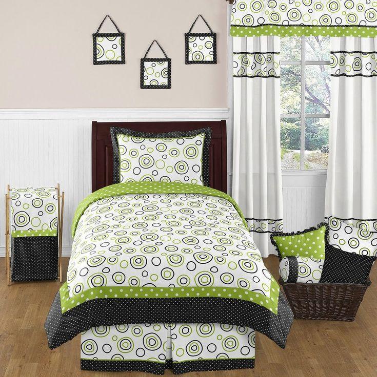 Spirodot 4 Piece Twin Comforter Set