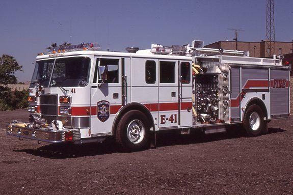 Monroeville PA Engine 41 - 1997 Pierce Pumper - Fire Apparatus Slide