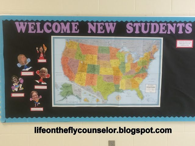 New Student Bulletin Board...Life on the Fly.... A School Counselor Blog: #GameChangers